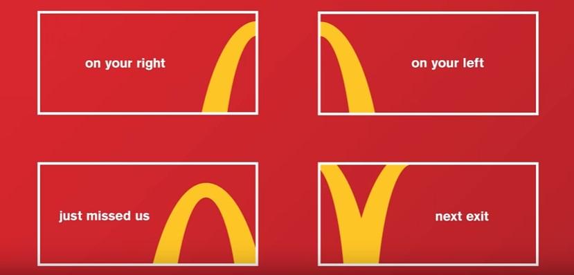 McDonald's Follow the Arches campaign