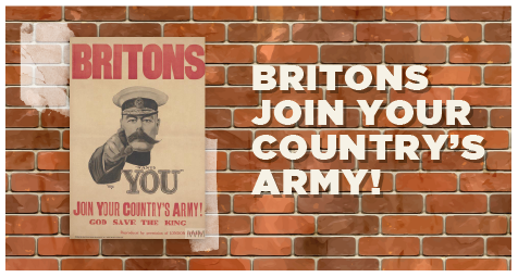 Britons join your country's army