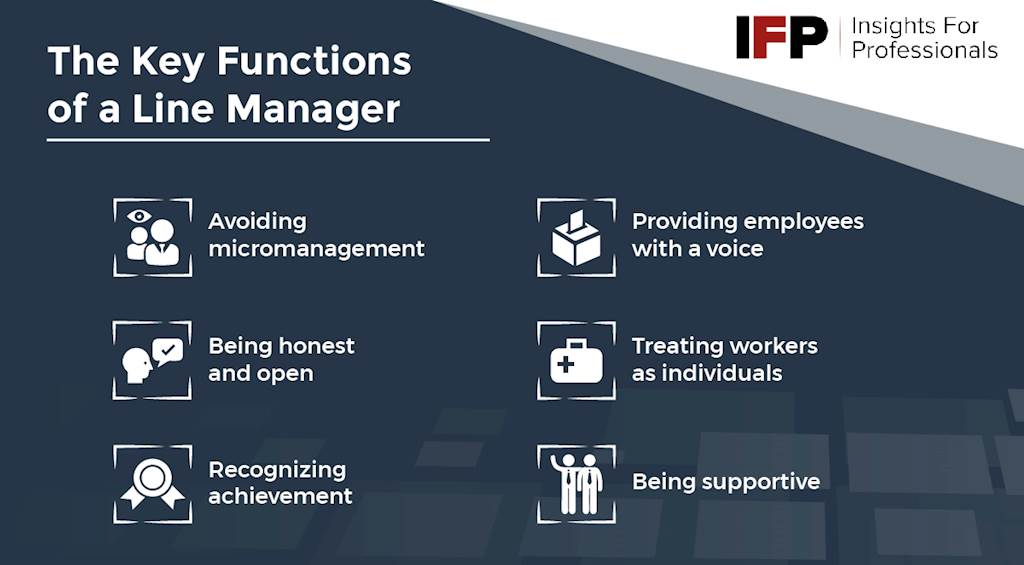 The Key Functions of a Line Manager