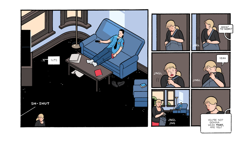 Chris Ware's iPad comic Touch Sensitive