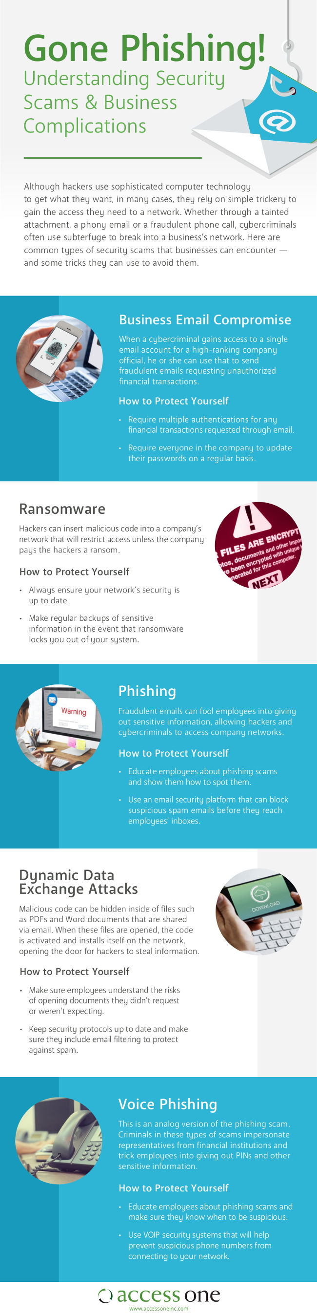5 Security Scams You Need to be Looking Out For [Infographic]