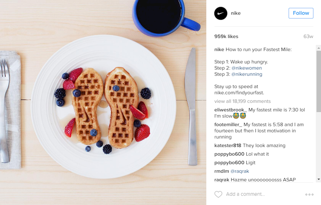 The 4 Biggest Brands Winning on Instagram