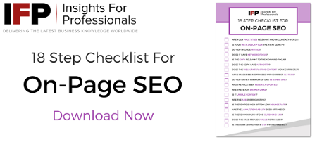 18 Step Checklist for On-Page SEO Dowwnload