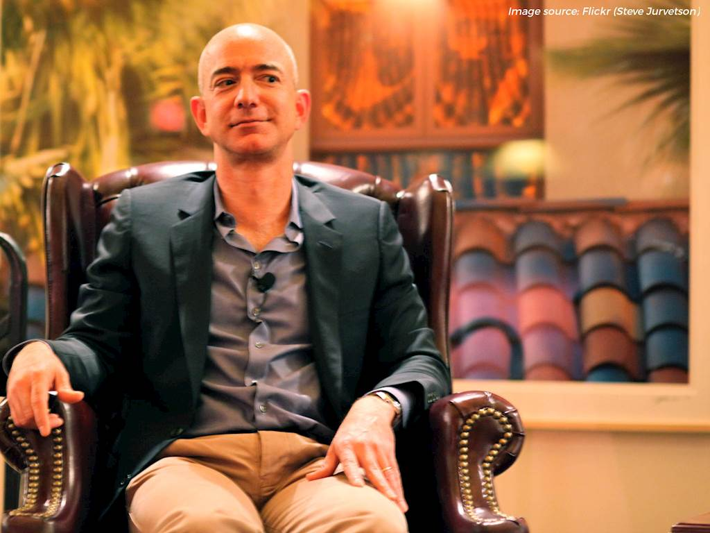 Jeff Bezos's Unconventional Steps to Becoming a Great Leader