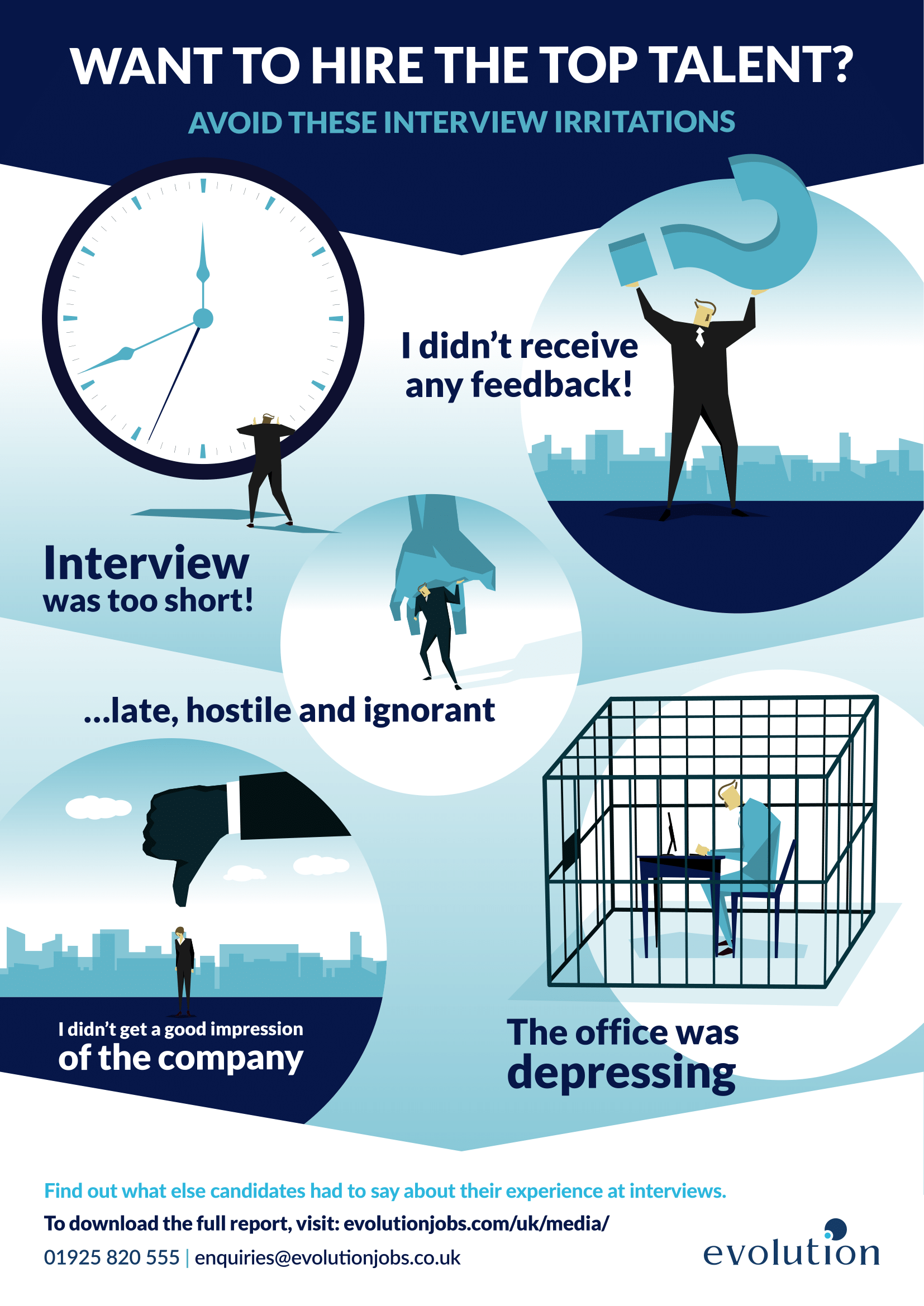5 Interview Irritations You Need to Avoid [Infographic]