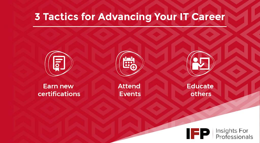 3 Tactics for Advancing your IT Career