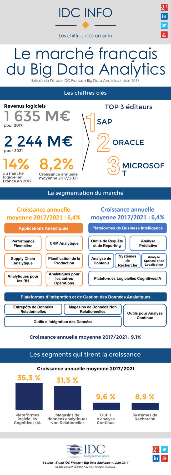 Le marché français du Big Data Analytics