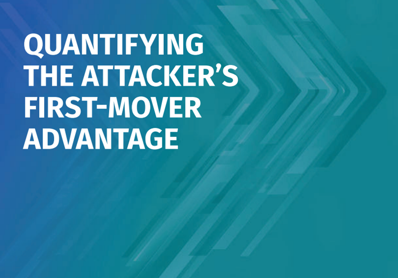 Tenable Quantifying the Attacker's First-Mover Advantage