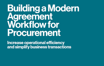 DocuSign Building a Modern Agreement Workflow for Procurement