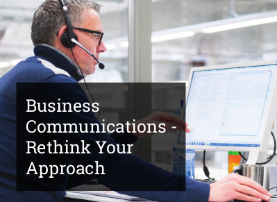 8x8 Business Communications - Rethink Your Approach