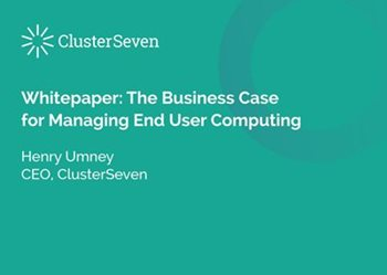 ClusterSeven How to Build a Business Case for Managing Your Business Critical Spreadsheets