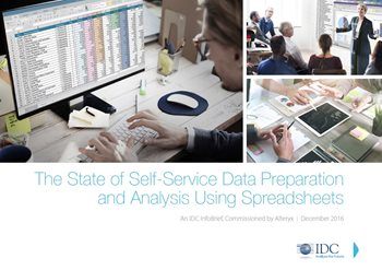 The State of Self-Service Data Preparation and Analysis Using Spreadsheets