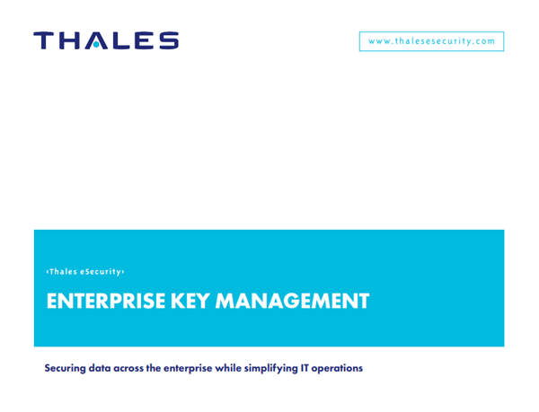 Thales Enterprise Key Management