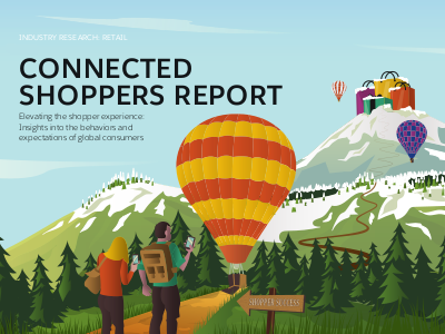 salesforce Connected Shoppers Report