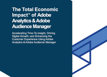 Adobe The Total Economic Impact of Adobe Analytics & Adobe Audience Manager