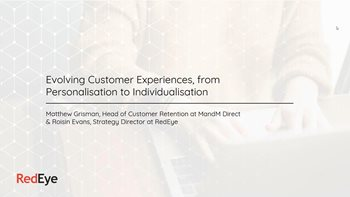 Evolving Customer Experiences, from Personalization to Individualization
