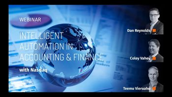 Intelligent Automation in Accounting & Finance with Nasdaq