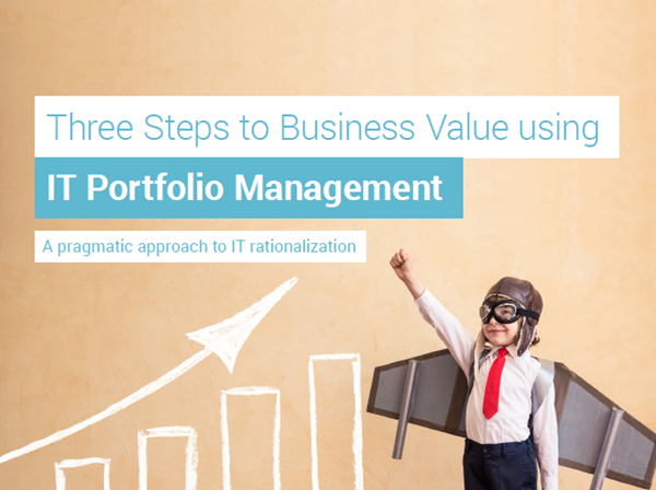 MEGA International Three Steps to Business Value using IT Portfolio Management