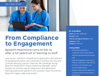 d2l From Compliance to Engagement