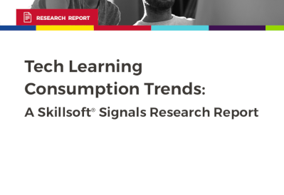 Skillsoft Tech Learning Consumption Trends