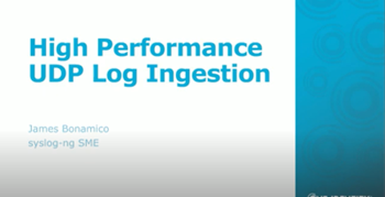 Syslog-ng Optimize Your SIEM Feed with syslog-ng