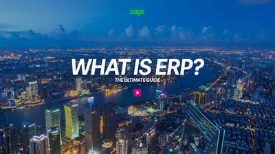 Sage What is ERP?