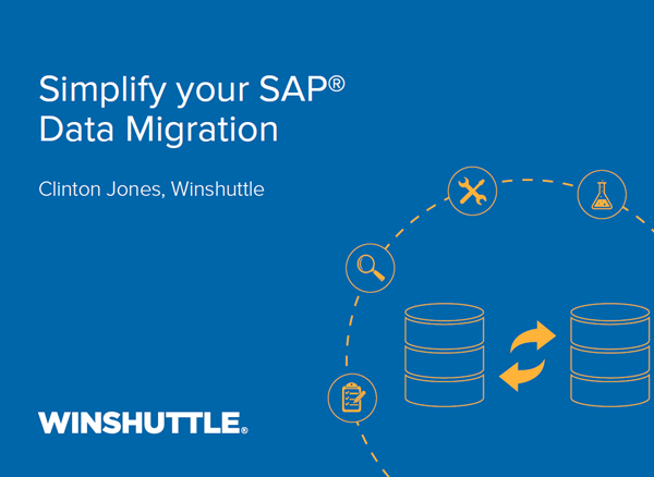Winshuttle Simplify your SAP Data Migration