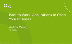 Back to Work: Top Applications to Open Your Business