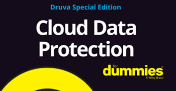 Druva-Cloud Data Protection for Dummies