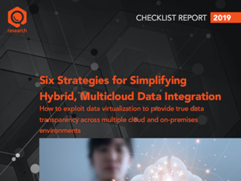 Denodo - Six Strategies for Simplifying Hybrid, Multicloud Data Integration