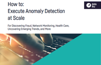 How to: Execute Anomaly Detection at Scale