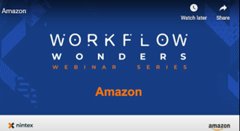 Nintex Nintex Workflow and the Amazon Way