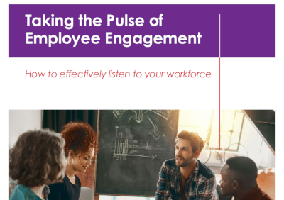 Achievers Taking the Pulse of Employee Engagement