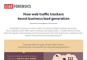 Lead Forensics How Web Traffic Trackers Boost Business Lead Generation