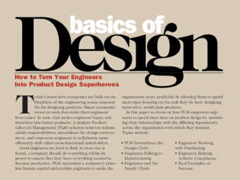 Arena Solutions Basics of Design: How to Turn Your Engineers into Product Design Superheroes