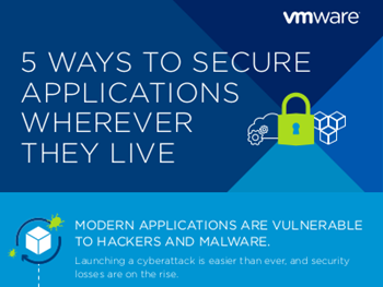 VMware 5 Ways to Secure Applications Wherever They Live