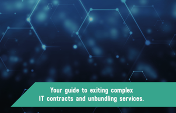 Crown Commercial Service Disaggregation: A Guide to Exiting Complex IT Contracts