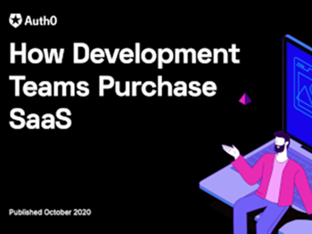 auth0 How Development Teams Purchase SaaS