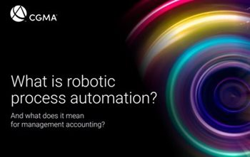 CGMA What is Robotic Process Automation?