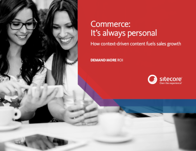 Sitecore Commerce: It's Always Personal