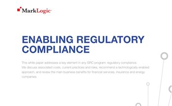 MarkLogic Enabling Regulatory Compliance