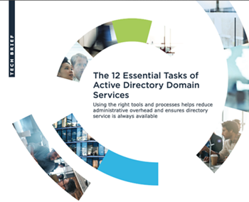 oneidentity-The 12 Essential Tasks of Active Directory Domain Services