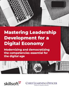 Skillsoft Mastering Leadership Development for a Digital Economy