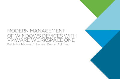 VMware Modern Management of Windows Devices with VMware Workspace One