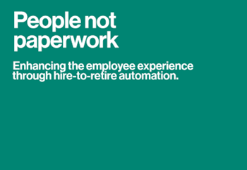 DocuSign People Not Paperwork: Enhance the Employee Experience through Hire-to-Retire Automation
