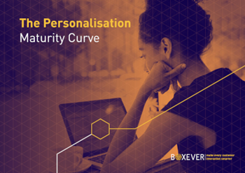 Boxever The Personalization Maturity Curve