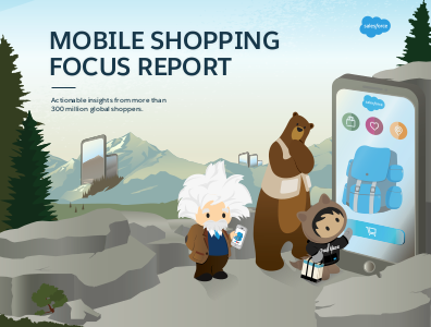 salesforce Mobile Shopping Focus Report