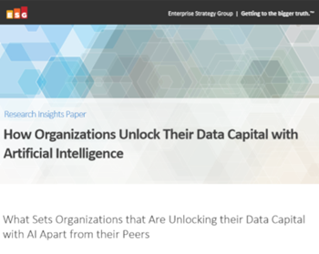 Dell EMC How Organizations Unlock Their Data Capital with Artificial Intelligence