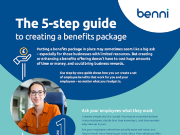 Benni The 5-Step Guide to Creating a Benefits Package