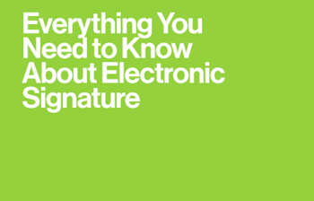 DocuSign Everything You Need to Know About Electronic Signature